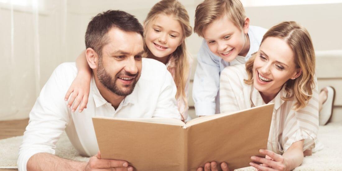 Los beneficios psicológicos de leer con tus hijos